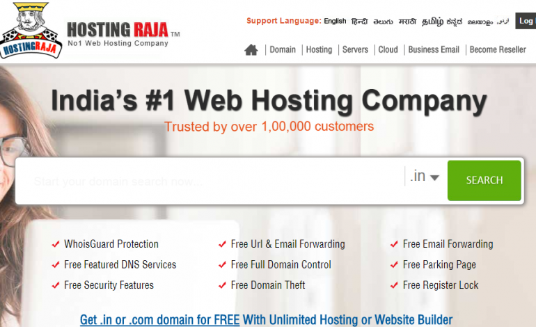 For flawless internet connectivity, Hosting Raja is the most