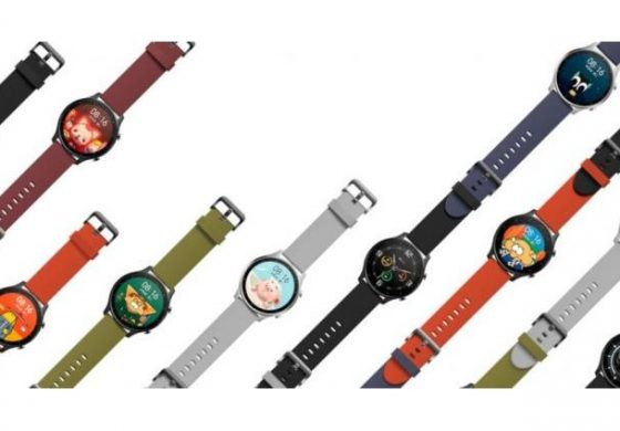 Color Xiaomi smartwatch size, disclosed specifications