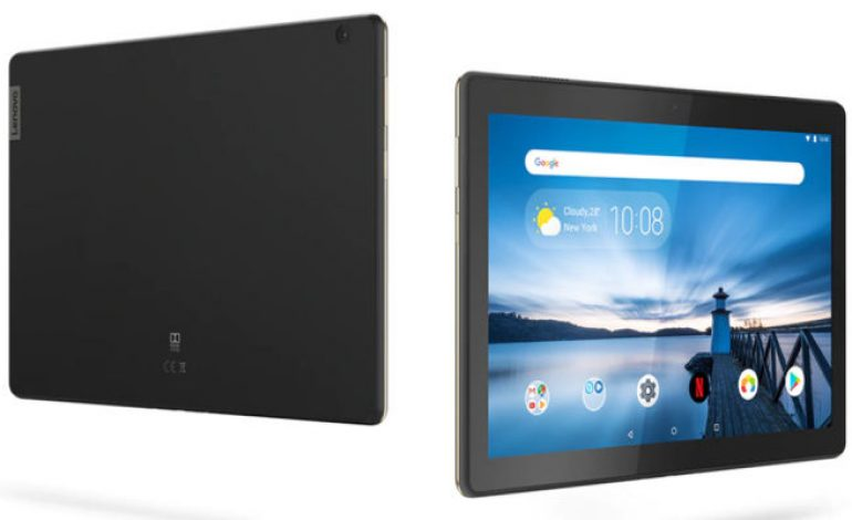 Lenovo M10 Rs 13,990 tablet started