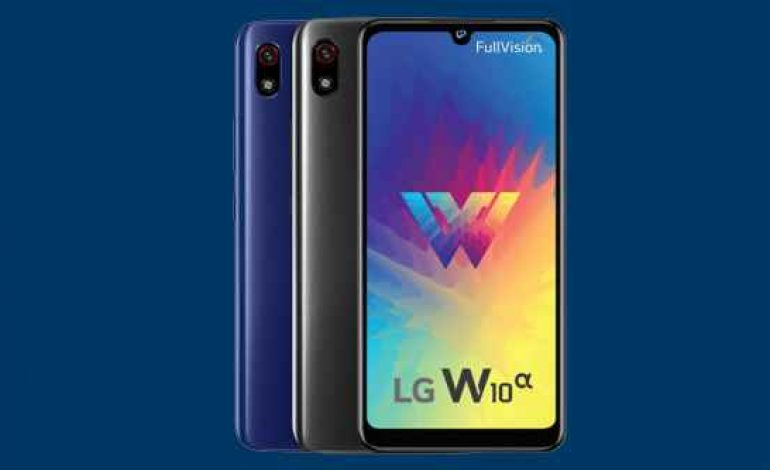 LG W10 Alpha began for Rs 9,999 in India